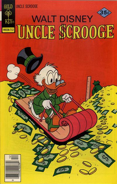 Cover for Uncle Scrooge (Western, 1963 series) #147 [Gold Key]
