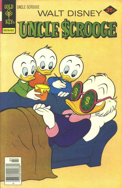 Cover for Uncle Scrooge (Western, 1963 series) #150 [Gold Key]