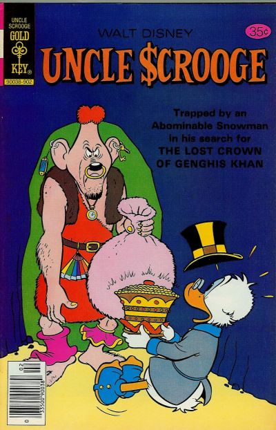 Cover for Uncle Scrooge (Western, 1963 series) #161 [Gold Key]