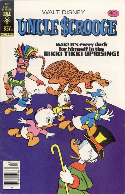 Cover for Uncle Scrooge (Western, 1963 series) #163 [Gold Key Variant]