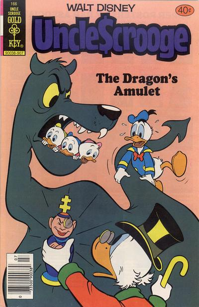 Cover for Uncle Scrooge (Western, 1963 series) #166 [Gold Key Variant]