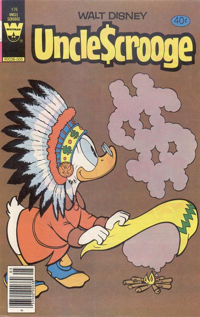 Cover for Uncle Scrooge (Western, 1963 series) #176