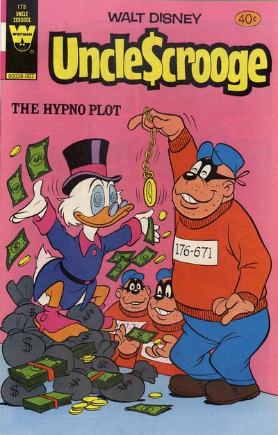 Cover for Uncle Scrooge (Western, 1963 series) #178