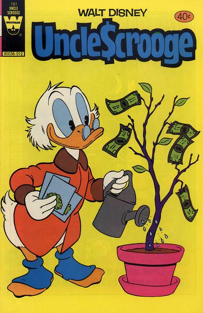 Cover for Uncle Scrooge (Western, 1963 series) #181