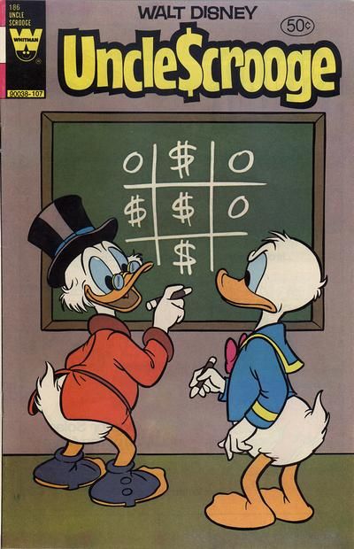 Cover for Uncle Scrooge (Western, 1963 series) #186