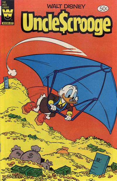 Cover for Uncle Scrooge (Western, 1963 series) #192