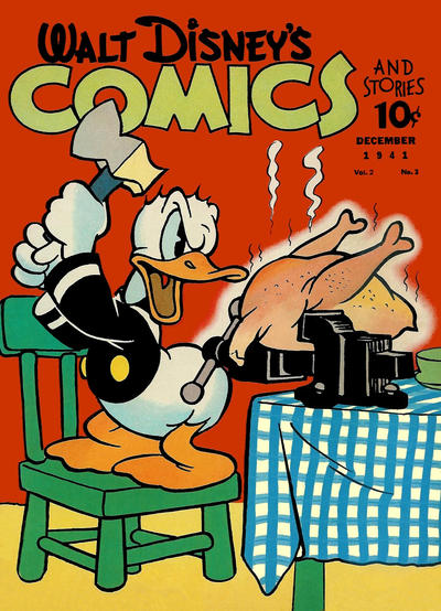 Cover for Walt Disney's Comics and Stories (Dell, 1940 series) #v2#3 [15]