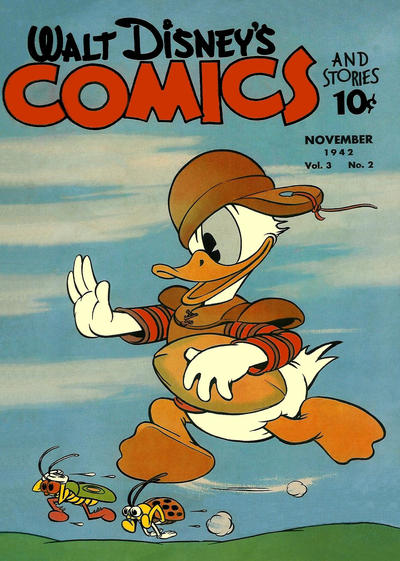 Cover for Walt Disney's Comics and Stories (Dell, 1940 series) #v3#2 [26]