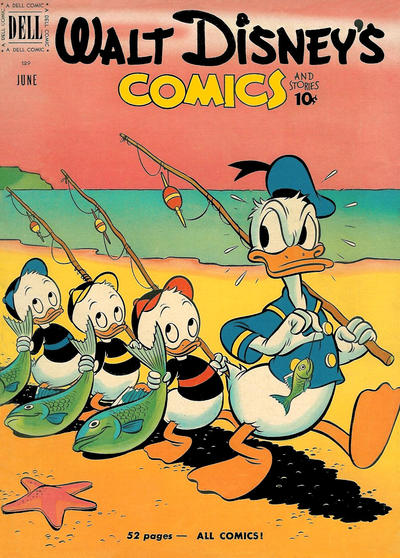 Cover for Walt Disney's Comics and Stories (Dell, 1940 series) #v11#9 (129)