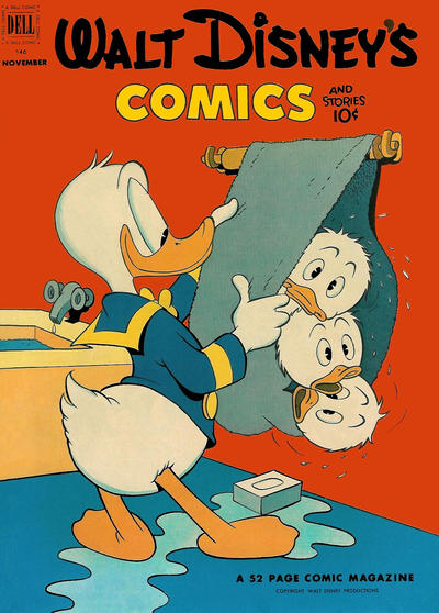 Cover for Walt Disney's Comics and Stories (Dell, 1940 series) #v13#2 (146)