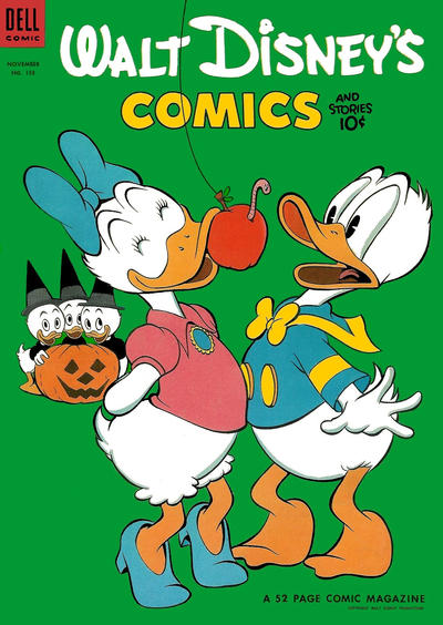 Cover for Walt Disney's Comics and Stories (Dell, 1940 series) #v14#2 (158)