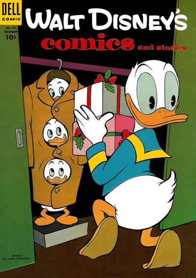 Cover for Walt Disney's Comics and Stories (Dell, 1940 series) #v15#3 (171)