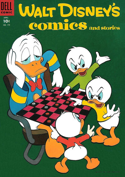 Cover for Walt Disney's Comics and Stories (Dell, 1940 series) #v15#7 (175)