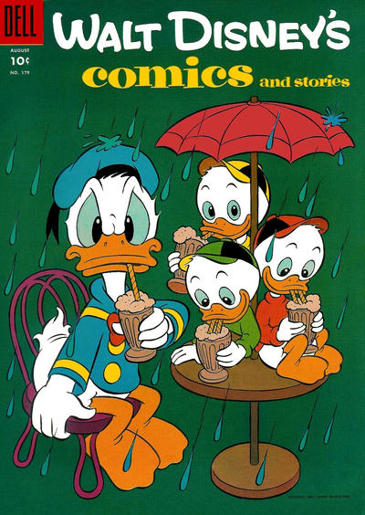 Cover for Walt Disney's Comics and Stories (Dell, 1940 series) #v15#11 (179)