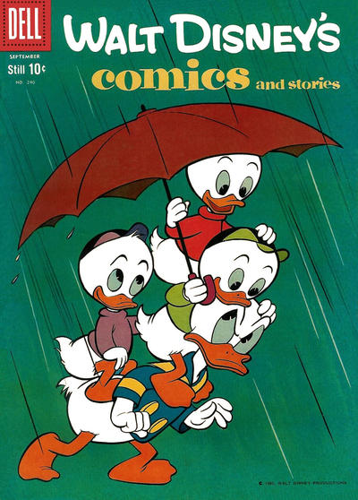 Cover for Walt Disney's Comics and Stories (Dell, 1940 series) #v20#12 (240)