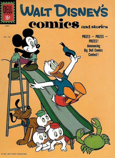 Cover for Walt Disney's Comics and Stories (Dell, 1940 series) #v21#8 (248)