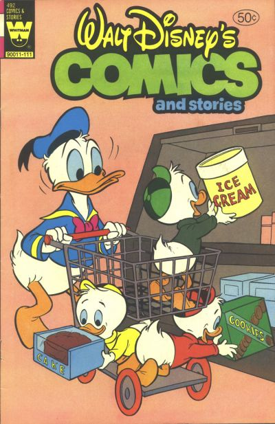 Cover for Walt Disney's Comics and Stories (Western, 1962 series) #v41#12 / 492