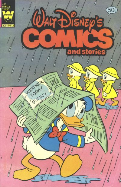 Cover for Walt Disney's Comics and Stories (Western, 1962 series) #v42#1 / 493