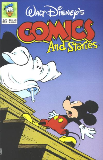 Cover for Walt Disney's Comics and Stories (Disney, 1990 series) #578