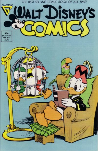 Cover for Walt Disney's Comics and Stories (Gladstone, 1986 series) #531
