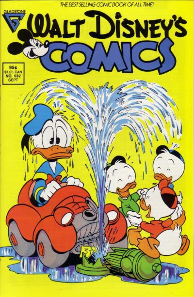 Cover for Walt Disney's Comics and Stories (Gladstone, 1986 series) #532
