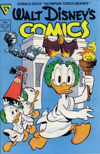 Cover for Walt Disney's Comics and Stories (Gladstone, 1986 series) #535 [Direct]