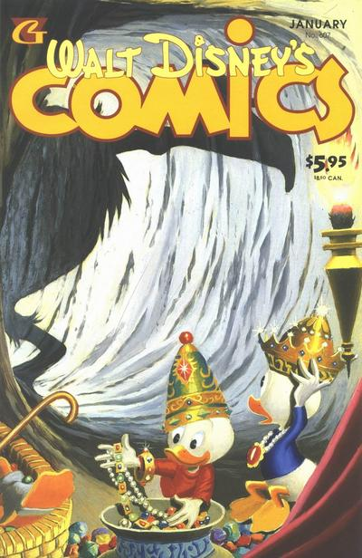 Cover for Walt Disney's Comics and Stories (Gladstone, 1993 series) #607