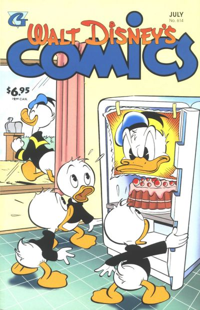 Cover for Walt Disney's Comics and Stories (Gladstone, 1993 series) #614