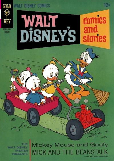 Cover for Walt Disney's Comics and Stories (Western, 1962 series) #v26#11 (311)