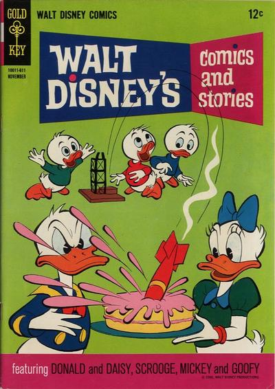 Cover for Walt Disney's Comics and Stories (Western, 1962 series) #v27#2 (314)