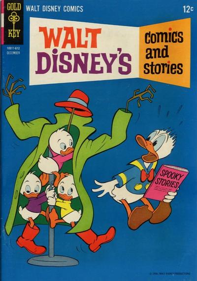 Cover for Walt Disney's Comics and Stories (Western, 1962 series) #v27#3 (315)