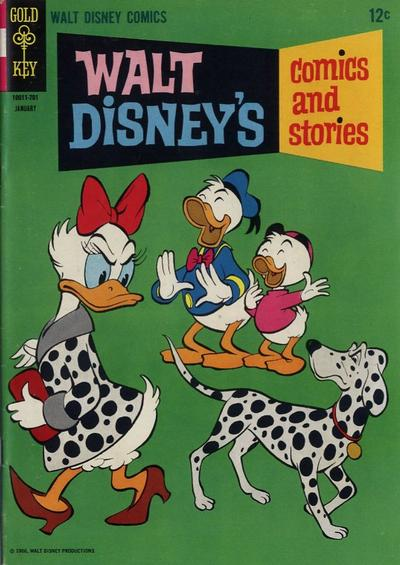 Cover for Walt Disney's Comics and Stories (Western, 1962 series) #v27#4 (316)
