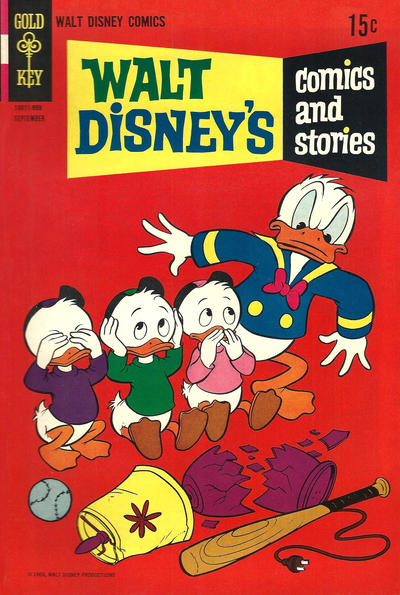 Cover for Walt Disney's Comics and Stories (Western, 1962 series) #v29#12 (348)