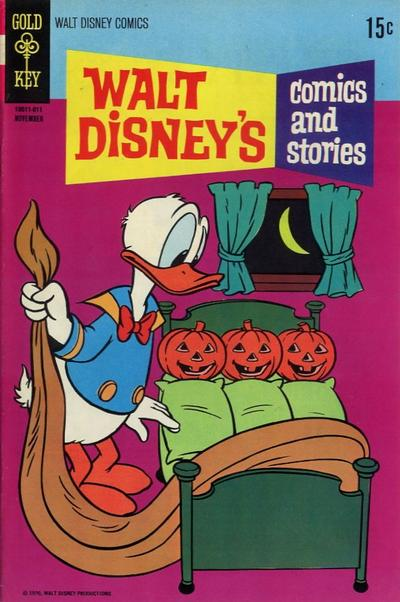Cover for Walt Disney's Comics and Stories (Western, 1962 series) #v31#2 (362)