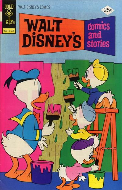 Cover for Walt Disney's Comics and Stories (Western, 1962 series) #v35#11 (419) [Gold Key]