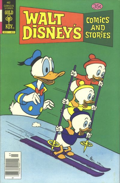 Cover for Walt Disney's Comics and Stories (Western, 1962 series) #v39#6 / 462 [Gold Key]
