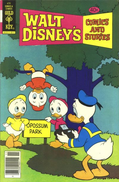 Cover for Walt Disney's Comics and Stories (Western, 1962 series) #v40#2 / 470