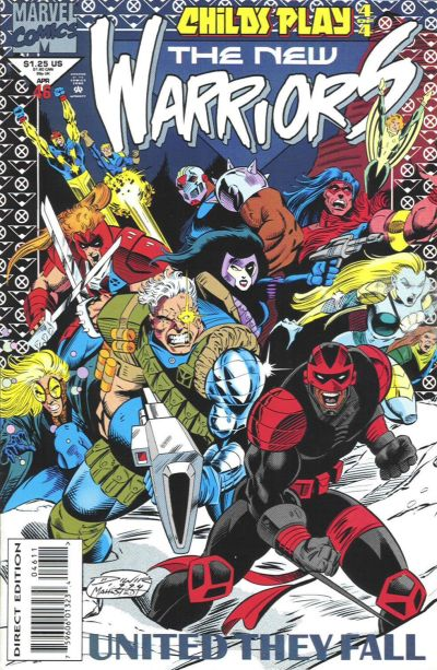 Cover for The New Warriors (Marvel, 1990 series) #46