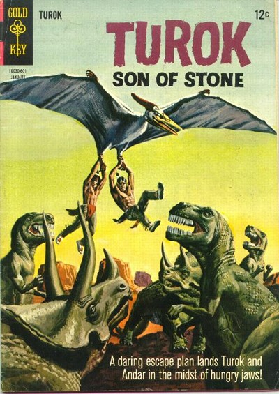 Cover for Turok, Son of Stone (Western, 1962 series) #49