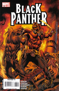 Cover Thumbnail for Black Panther (Marvel, 2005 series) #38