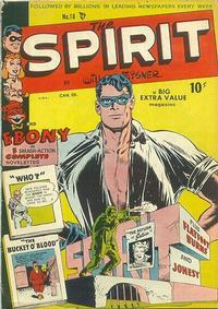 Cover Thumbnail for The Spirit (Bell Features, 1949 series) #18