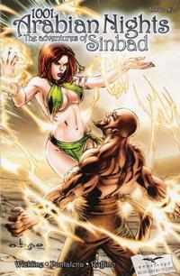 Cover Thumbnail for 1001 Arabian Nights: The Adventures of Sinbad (Zenescope Entertainment, 2008 series) #2 [Cover A - Eric Basaldua]