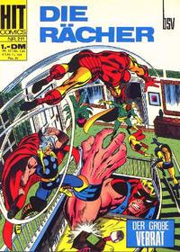 Cover Thumbnail for Hit Comics Die Rächer (BSV - Williams, 1971 series) #211