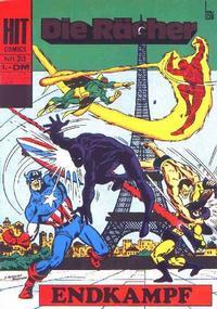 Cover Thumbnail for Hit Comics Die Rächer (BSV - Williams, 1971 series) #213