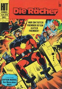 Cover Thumbnail for Hit Comics Die Rächer (BSV - Williams, 1971 series) #214