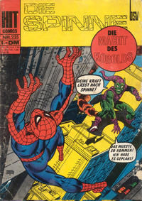 Cover Thumbnail for Hit Comics Die Spinne (BSV - Williams, 1971 series) #235