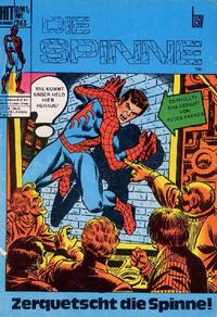 Cover Thumbnail for Hit Comics Die Spinne (BSV - Williams, 1971 series) #243