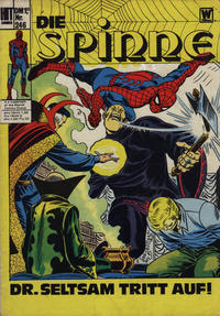 Cover Thumbnail for Hit Comics Die Spinne (BSV - Williams, 1971 series) #246