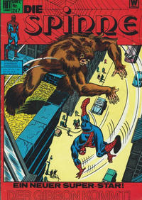 Cover Thumbnail for Hit Comics Die Spinne (BSV - Williams, 1971 series) #247