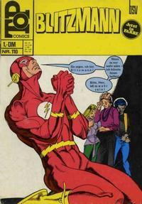 Cover Thumbnail for Top Comics Blitzmann (BSV - Williams, 1970 series) #110